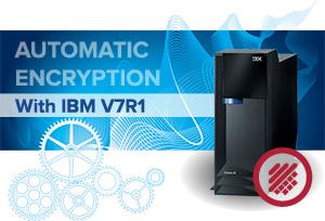 Transparent encryption for IBM i