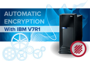 Transparent encryption for IBM i