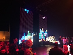 Giant Tetris at Re:Invent