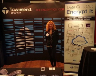 Shayna at SecureWorld Seattle 2014