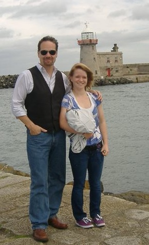 James and his daughter