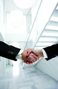 Encryption key management partnership