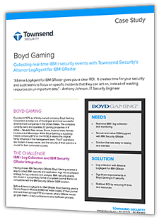 Blog | Townsend Security | IBM QRadar