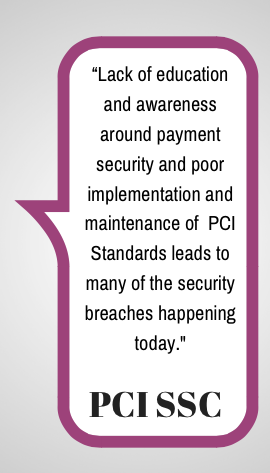 Quote from PCI SSC