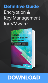 VMWare and Encryption Key Management Failover
