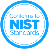 Conforms to NIST Standards