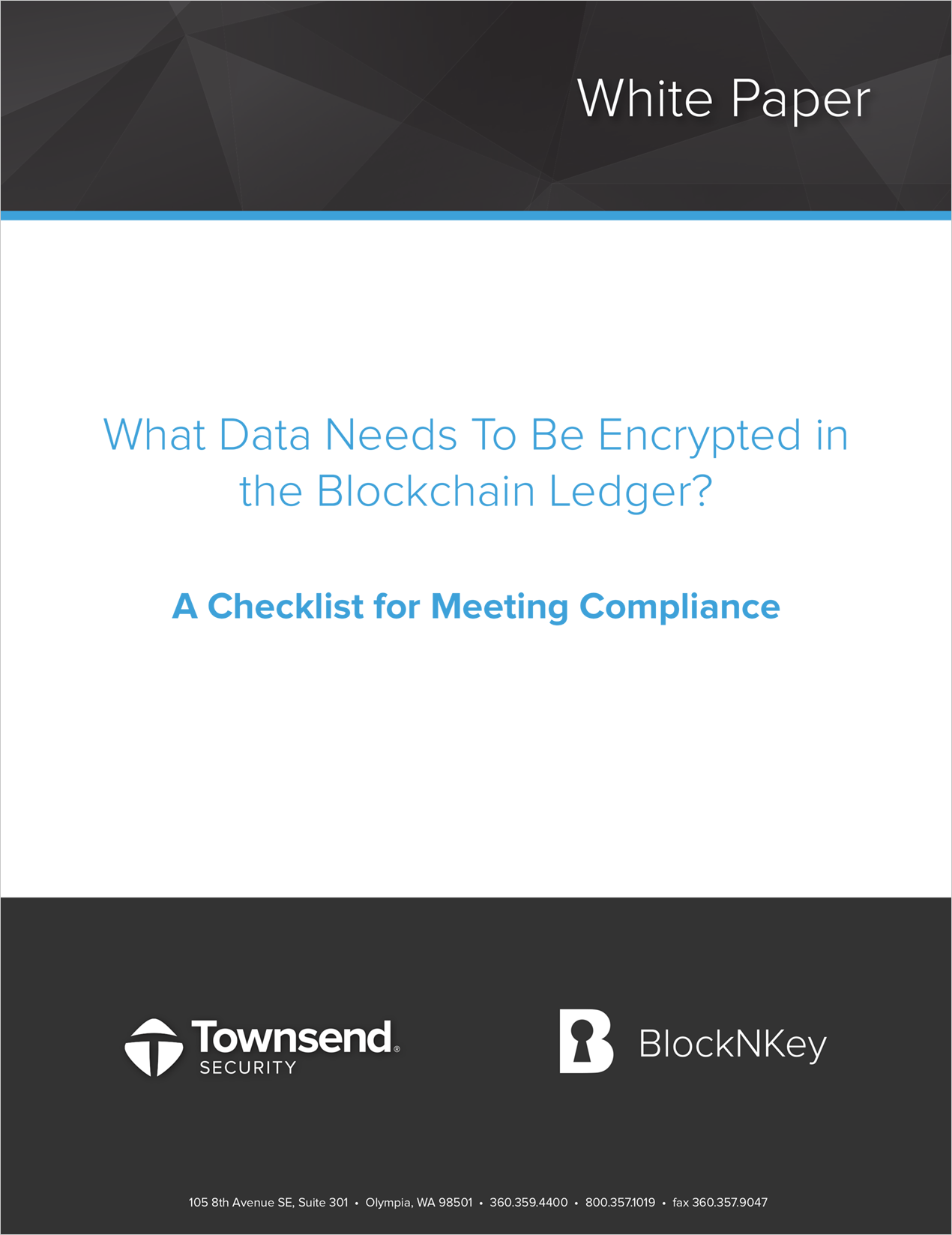 Blockchain Encryption Checklist