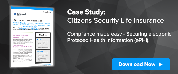 Meeting HIPAA and protecting ePHI with encryption and key management.