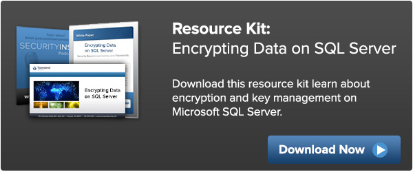 Resource Kit: Encrypting Data on SQL Server