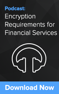 Encryption Requirements for Financial Services