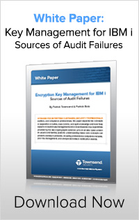 Key Management for IBM i - Audit Failures
