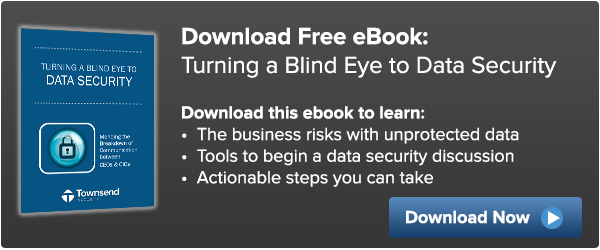 Turning a Blind Eye to Data Security eBook