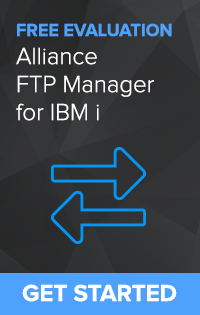 Secure Managed File Transfer for IBM i