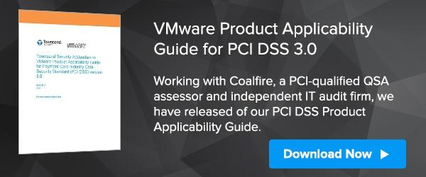 VMware Encryption Key Management PCI DSS