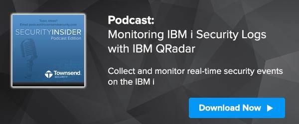Monitoring IBM i Security Logs with IBM QRadar