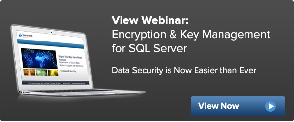 Encryption Key Management for Microsoft SQL Server