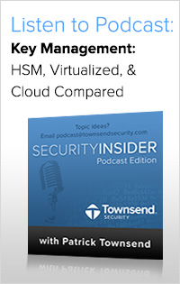Listen to the Podcast on Key Management Options
