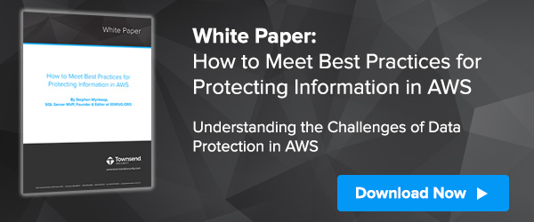 How to Meet Best Practices for Protecting Information in AWS by Stephen Wynkoop